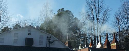 Lexington Barbecue Smoke in North Carolina